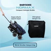 stroller bayi cabin size babydoes normax terbaru