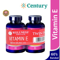 Wellness Vitamin E 400 IU 60 Kapsul (Banded isi 2 Botol)/Anti Aging