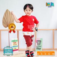 Setelan Kaos Anak Cowo 2 4 6 8 10 Tahun / Baju Kaos Anak Laki Laki - POKEMON, 2