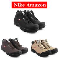 Sepatu Safety Pria Nike Amzon Boots Ujung Besi Terbaru Outdoor