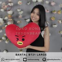 TERMURAH! BANTAL BONEKA BTS BT21 LARGE PRODUSEN LANGSUNG - TATA