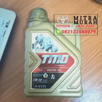 oli Mesin Mobil Toyota Diesel TMO Gold 5W-30 synthetic 1Liter Original