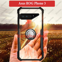 Asus ROG Phone 3 Soft Case Casing Back Cover Transparan With i Ring