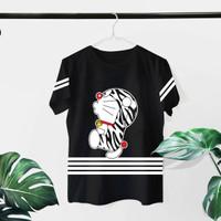 T-shirt Emon Belang / Baju Kaos Distro Wanita Cotton 30s