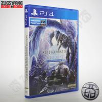 kaset game bd ps4 ps 4 MONSTER HUNTER WORLD ICEBORNE 2nd bekas used