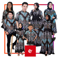 Batik Couple / Keluarga / Pasangan / Anak Motif Madu Ijo - Hem Anak, M