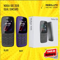 HP HANDPHONE NOKIA 106 2018 JADUL BARU NEW DUAL SIM TERMURAH MURAH 2