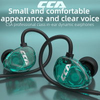 CCA CSA In-Ear wired headset with microphone 3.5mm Earphone Stereo