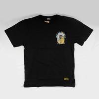 T Shirt kaos SKULL PARADISE BLACK Indian Summer