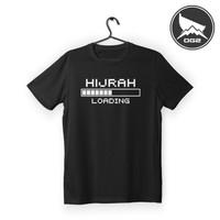 kaos islami loading hijrah H017 baju pria wanita OG2