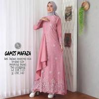 Baju Gamis Pesta Modern Seragam Gamis Terbaru Dress Muslim Wanita .
