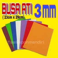 Spon Eva / Busa Ati 3mm (23cm x 29cm) // Busa Hati / Art foam / Spon