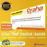 Cetak / Print Spanduk / Banner Flexy 260