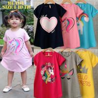 Baju Anak Perempuan Daster Anak Dress Pakaian Anak Perempuan Cewek SB2 - SIZE 1 TAHUN