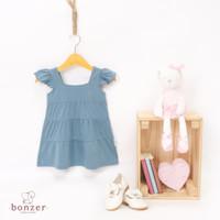 [DRESS / BAJU ANAK] Flo Dress - Mineral Blue, 5
