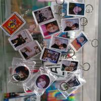 gantungan kunci arkilik foto 2 sisi