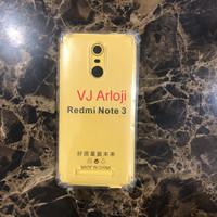 Soft case anti crack redmi note 3