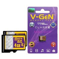memory vgen class 6 4gb