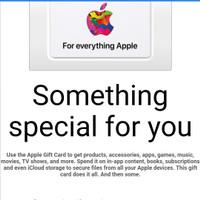 Apple Gift Card US Region Murmer (e-Gift)