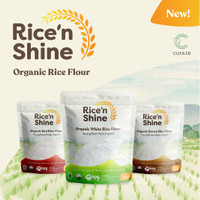 RICE N SHINE TEPUNG BERAS ORGANIK 250GR | MPASI GLUTEN FREE FLOUR - Beras Putih