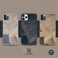 CASE OFFWHITE GOLD IPHONE 12 PRO MAX MINI 11 7 8 PLUS X XS XR XS XSMAX