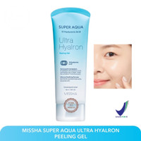 [BPOM] MISSHA Super Aqua Ultra Hyalron Peeling Gel 100ml