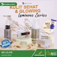 Ms Glow Paket Luminous Series Free Pouch / Ms Glow Original
