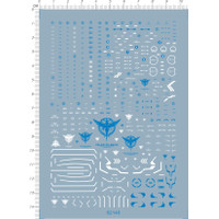 WATER DECAL RG GN-001 00 EXIA Gundam 62140