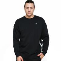 Sweater Pria Puma Downtown Crew Puma Black 59636801 SMS