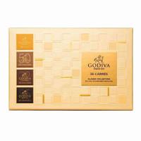 Godiva Carre All Assorted / All Dark 36 Pcs Coklat Valentine Mewah