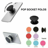 Pop Socket Polos PopSocket Standing Mobile Phone Ring Holder Stand Hp