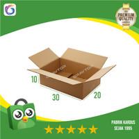 Box   Kotak   Dus   Kardus Polos Packing 30x20x10 (BUKAN Kardus Bekas)