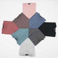 Termurah Harga Special Kaos Polos Katun Combed Misty CVC Unisex