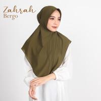 Hijab / Jilbab Bergo Antem Tali / Diamond Crepe Premium