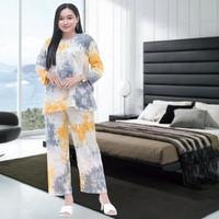 PIYAMA WANITA DEWASA / setelan baju tidur wanita kaos