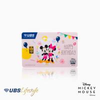 UBS LOGAM MULIA DISNEY MICKEY & MINNIE HAPPY BIRTHDAY EDITION 0.5 GR