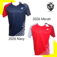 Baju Badminton Yonex Import 2026 Kaos Badminton Yonex LOGO BORDIR