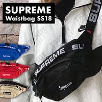 Supreme Waist / Bum / Sling Bag Spring Summer 2018 - Hitam