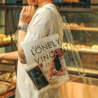 Tas Transparan Tas Santai Transparant Baggu Vintage Tote Bag
