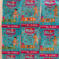 Pempers Baby Happy Renceng M L XL