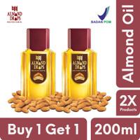 Bajaj Minyak Almond Hair Oil Drops / Vitamin E / - 200ml (Buy 1 Get 1)