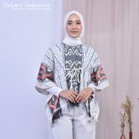 Mahesa Etnik Top Tenun Ikat Dakara Indonesia