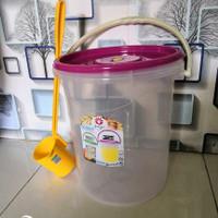 Tempat Es Buah 16 Liter dan 25 liter +Gayung Aquarium Es Kelapa