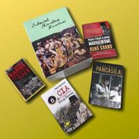 Paket Ir Sukarno Di Bawah Bendera Revolusi Jilid 1 Dan 2, Bonus 4 Buku