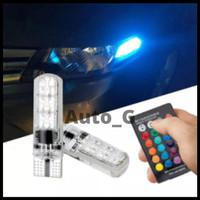 LAMPU SEIN LED T10 RGB, LAMPU PLAT, LAMPU SENJA, LAMPU REM, LAMPU SEN