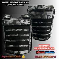 Vest Rompi tebal anti angin windproof bikers army airsoft paintball