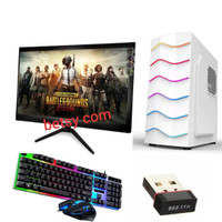 PC core i7 vga 4 gb monitor full set