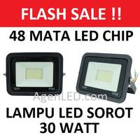 LED SOROT 30W Flood Light Lampu FLOODLIGHT tembak 30 w watt outdoor N3