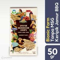 Bionic Farm - Keripik Jamur BBQ - Snack Sehat - Tanpa MSG - 50 gr