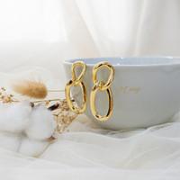 Bellina Earrings | Anting korea rantai cantik aksesoris wanita ATG 009